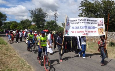 Good Friday 2017 March of Witness